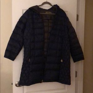Navy blue Michael Kors Down Coat